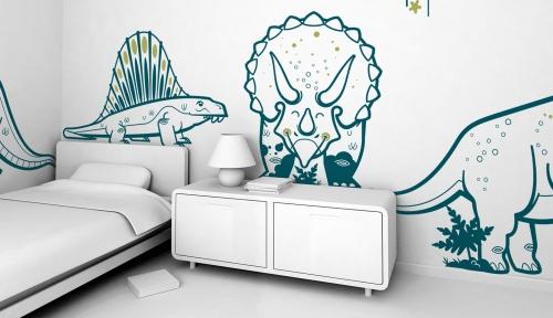 chambre dinosaure