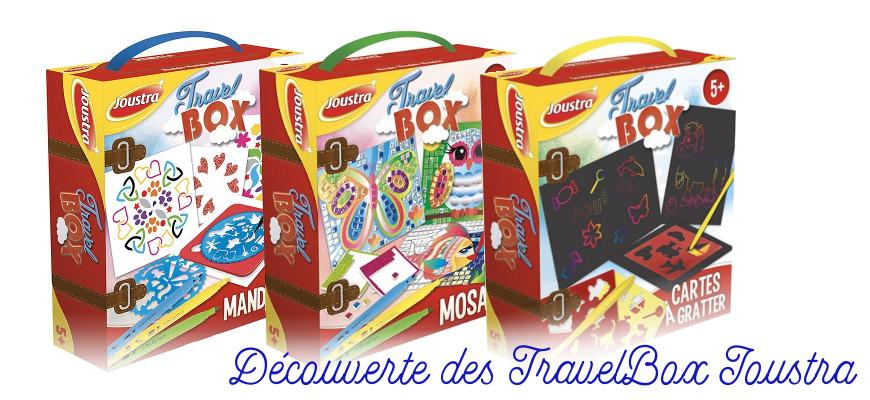 Les TravelBox de Joustra : de chouettes box créatives pour les enfants (+concours)