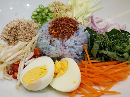 Nourriture Sud Thai, Cuisine Thaïlandaise, Riz, Salade