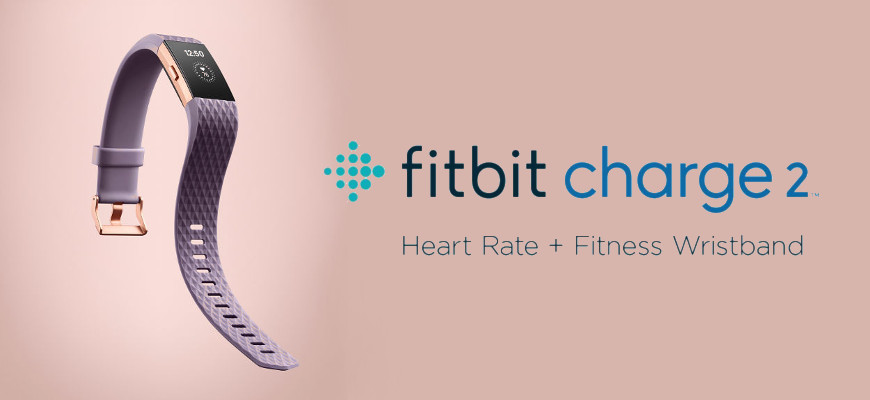 L'homme teste le Fitbit Charge 2