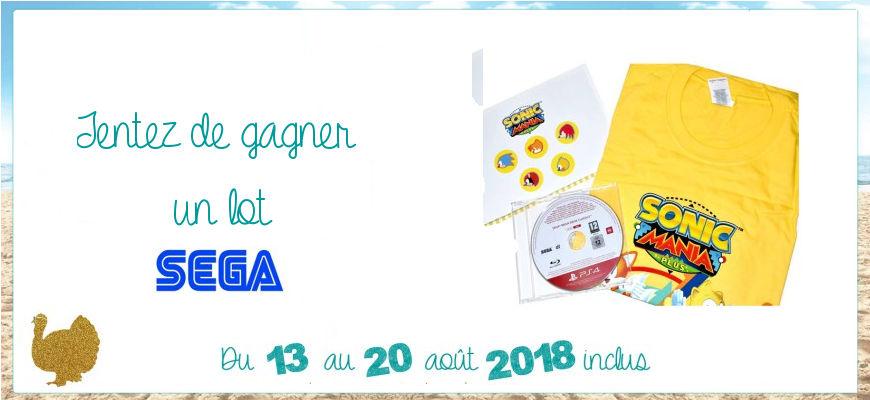Les Dindes fêtent l'été : geekez avec Sega