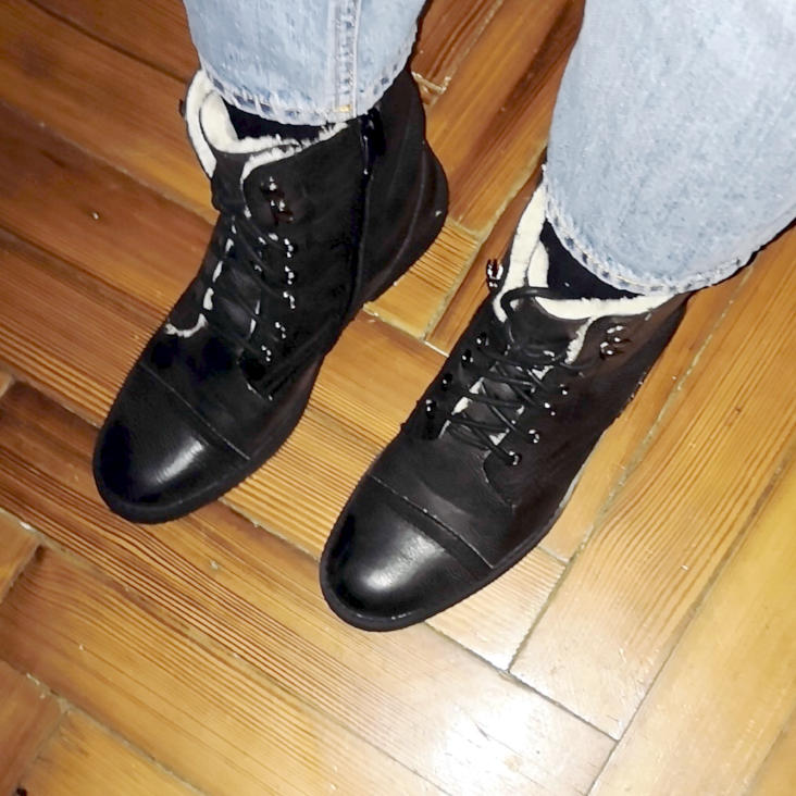 bottines Vinted