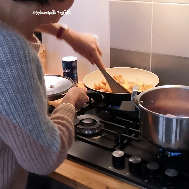 Maman qui cuisine