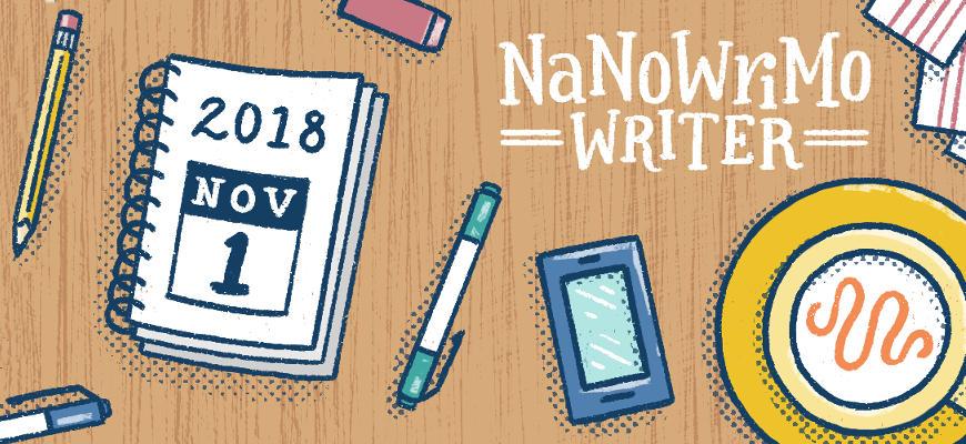 NaNoWriMo 2018 : point d'étape à mi-parcours