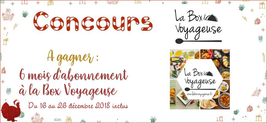 [Le sapin de Noël des dindes] La Box Voyageuse