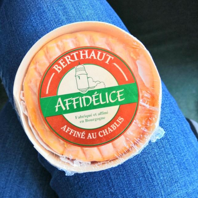 fromage affiné au Chablis
