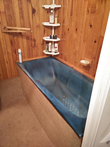 salle de bain moquette
