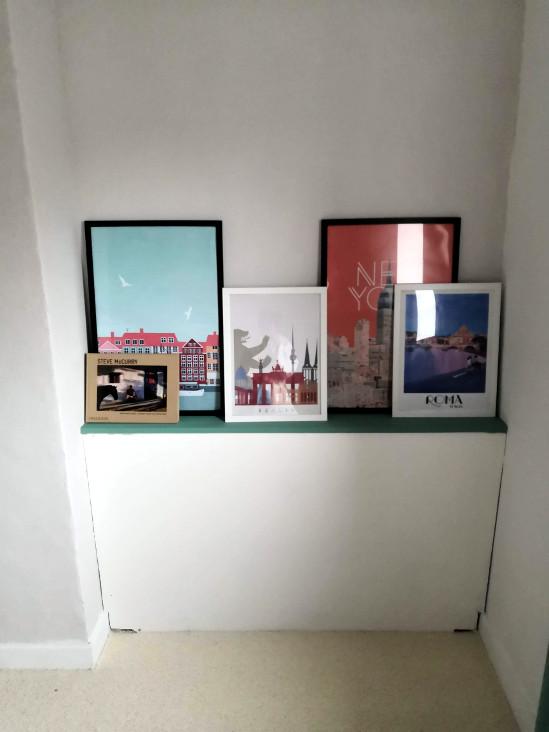 affiches dans chambre