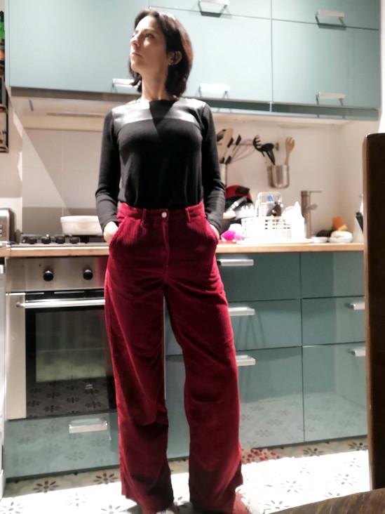 Pantalon velours Bizzbee