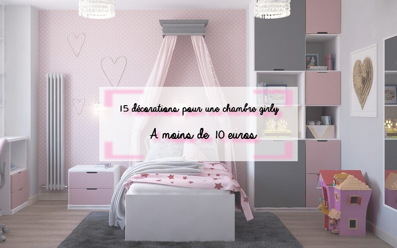 15 décorations chambres girly