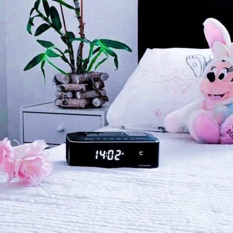 Comment se réveiller facilement avec Radio réveil Thomson - Blog famille et lifestyle