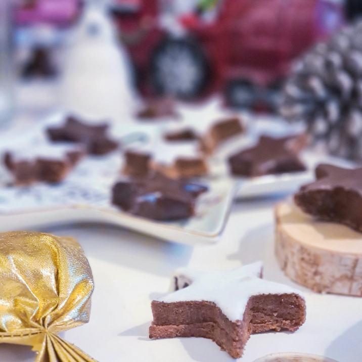 Recette étoiles chocolatées
