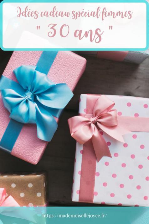 Idées cadeau spécial femmes 30 ans