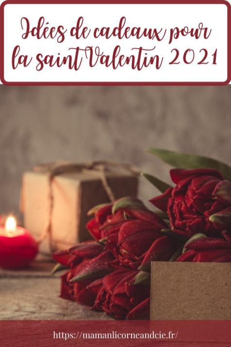 Idées de cadeaux pour la saint Valentin 2021