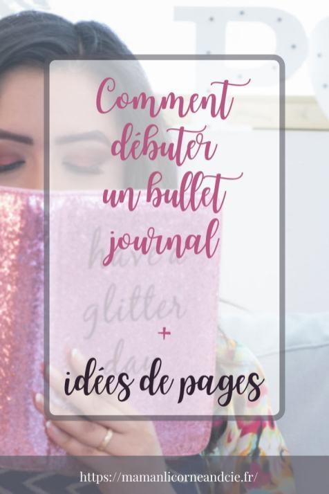 Idées de pages bullet journal
