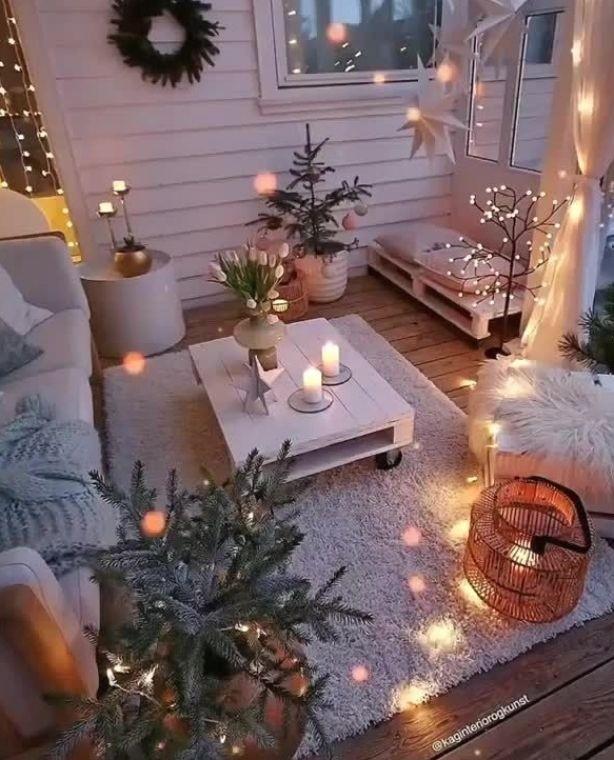 Idées décorations terrasse cocooning