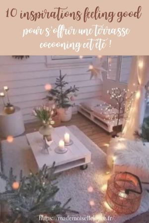 Inspirations terrasse cocooning