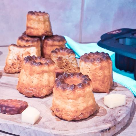 Cannelés Comté Chorizo cake factory