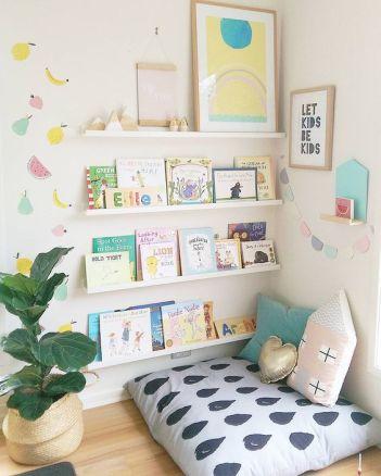 Idées coin lecture chambre enfant