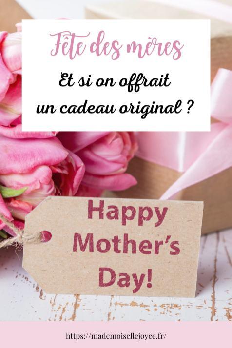 Cadeau original fête des mères