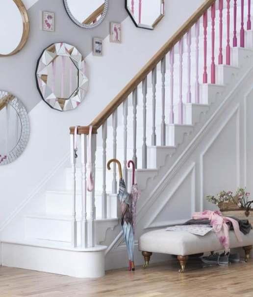 Escaliers en peinture