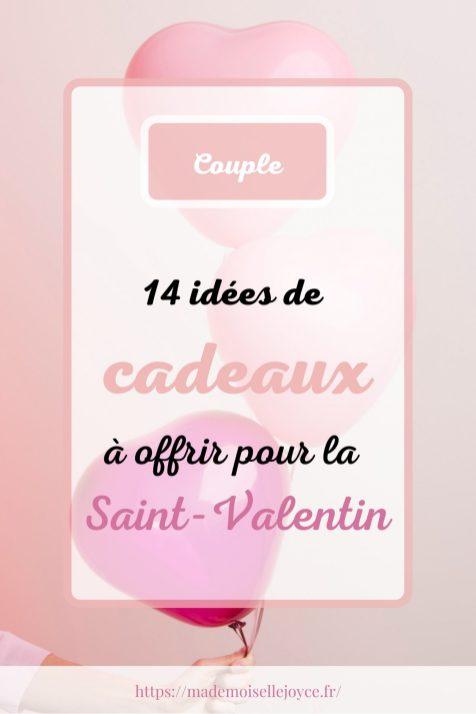Idées de cadeaux à offrir pour la Saint-Valentin