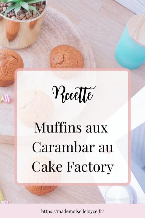 Muffins Carambar Cake Factory