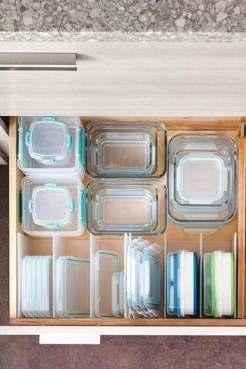 Rangement tiroirs cuisine
