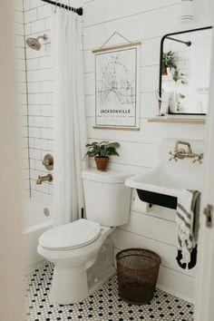 Décorer petite salle de bain