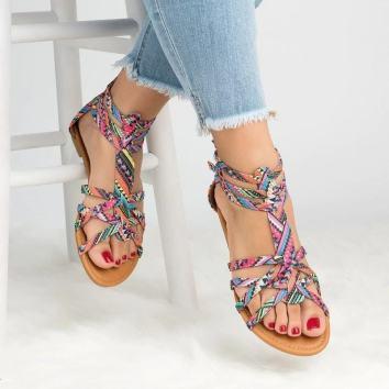 Sandales été 2021 couleur