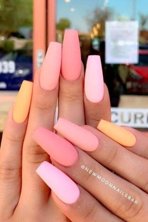 manucure pastel 2021 newmoon