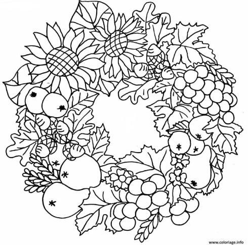 coloriages automne enfants adultes