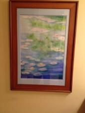 watercolor water lilies