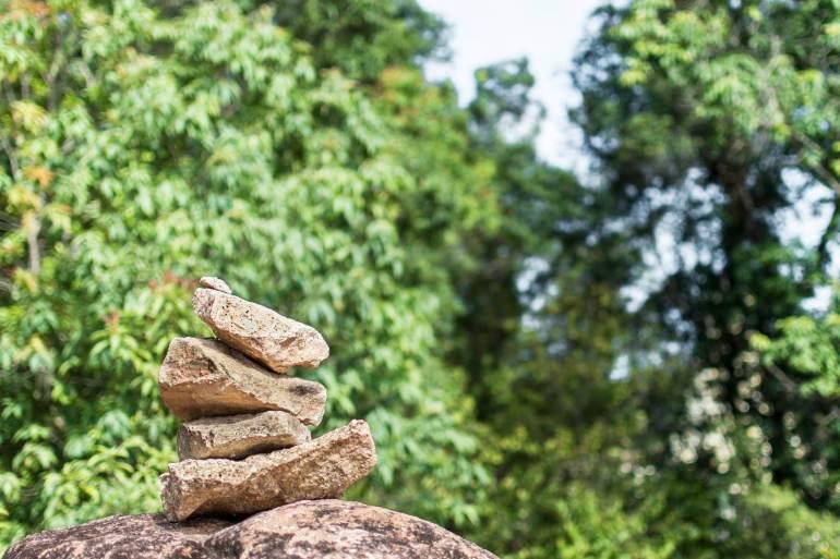 Cairn at Penang Hill