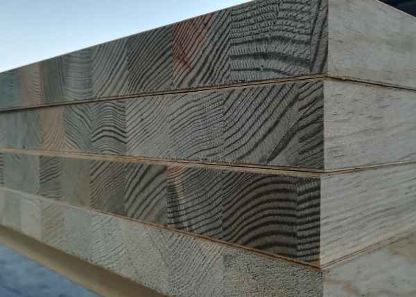 Tableros alistonados rechapados madera pino