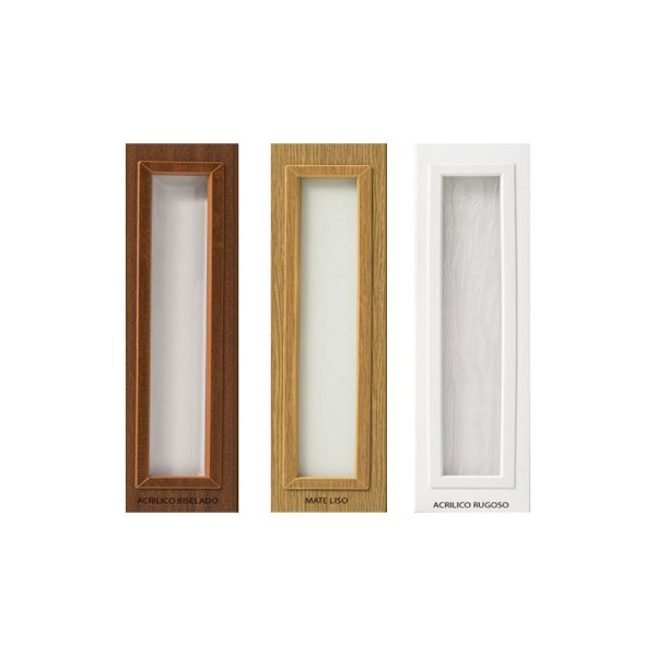 Tipos de vidrios de puerta plegable