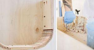 curvar madera ranuras