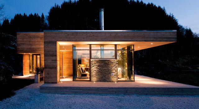 madera actual cabaa moderna
