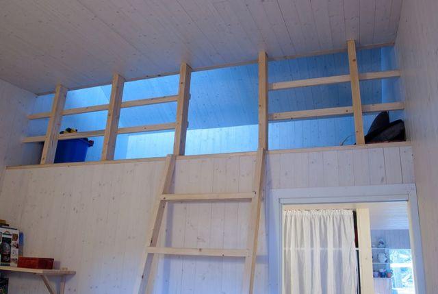 techo de madera simple