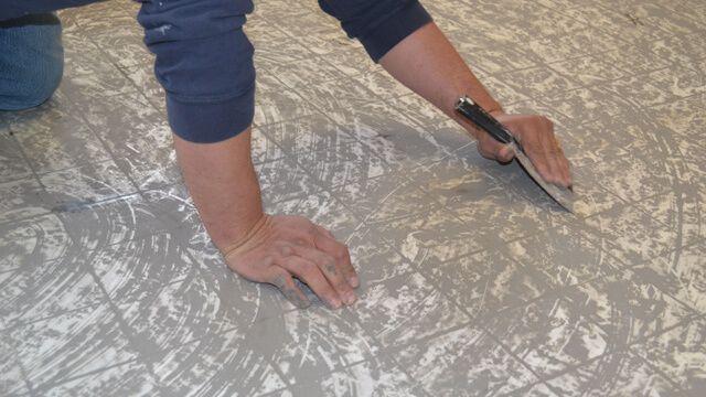 preparar zona para poner suelos vinilo