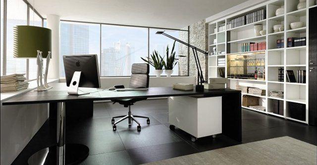 oficina casera iluminacion