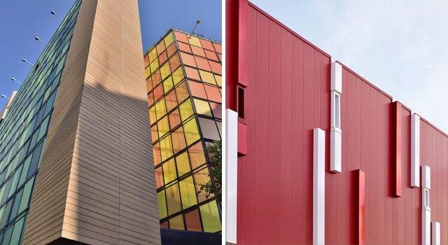 edificio revestimiento composite fachada