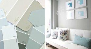 Maderame - Muebles grises paredes color ...