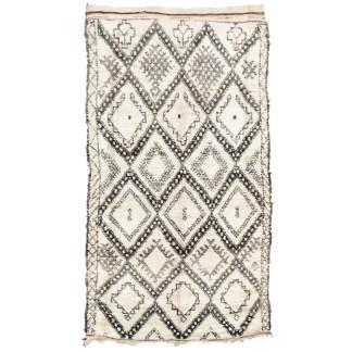 Vintage Beni Ouarain Rug