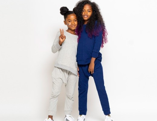 two young girls in bash and sass clothing