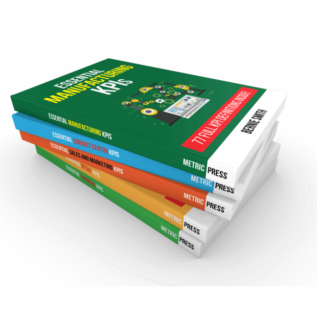 Group shot of Essential KPI Guide Books - square