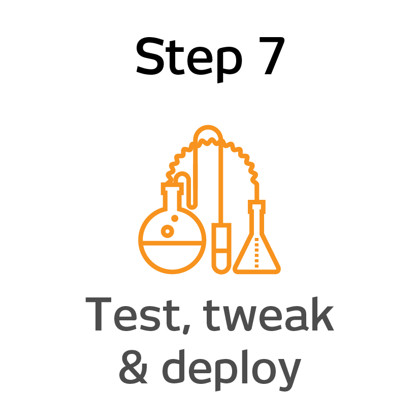 EPIK Step 7 - test, tweak and deploy@3x