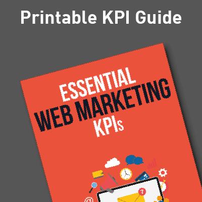 Web Marketing KPI Guide Ad image