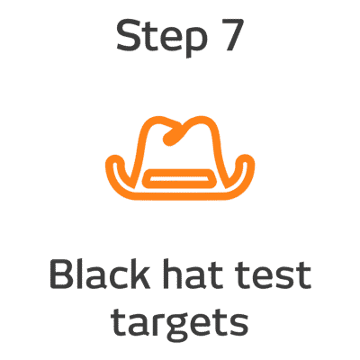 ROKET-DS Step 7 - Black hat test targets