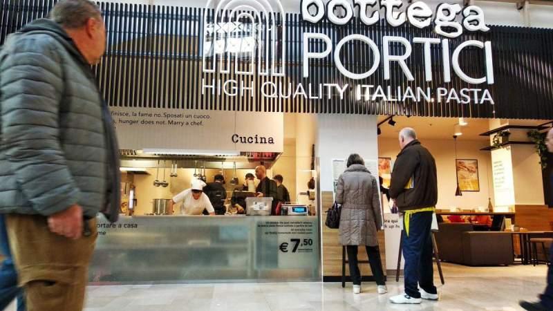 L'Emilia di Bottega Portici porta la pasta fresca a Milano